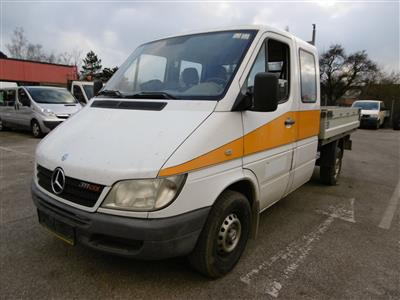 "LKW ""Mercedes Benz Sprinter Doka-Pritsche 311 CDI"", - Cars and vehicles"