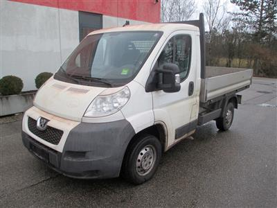 "LKW ""Peugeot Boxer Pritsche 3300 L1 120 HDI"", - Cars and vehicles"