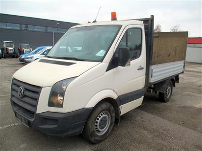 "LKW ""VW Crafter Pritsche 35 KR TDI"", - Cars and vehicles"