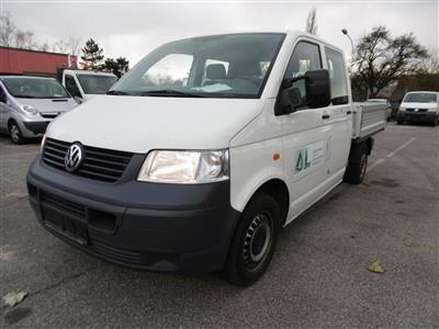 "LKW ""VW T5 Doka-Pritsche 2.5 TDI D-PF 4motion"", - Cars and vehicles"