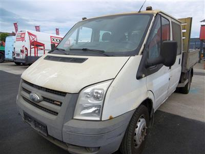 "LKW ""Ford Transit Doka-Pritsche 350M"", - Cars and vehicles"