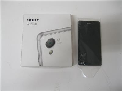"Smartphone ""Sony Xperia Z3"", - Postal Service - Special auction"