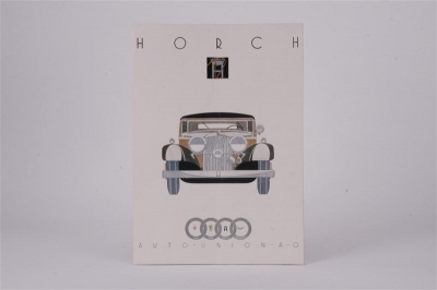 Horch 12 - Vintage Motor Vehicles and Automobilia