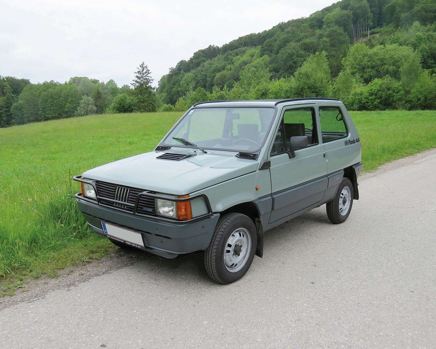 1983 Steyr Fiat Panda 4x4 No Reserve Classic Cars 2016 06 18 Realized Price Eur 9 660 Dorotheum