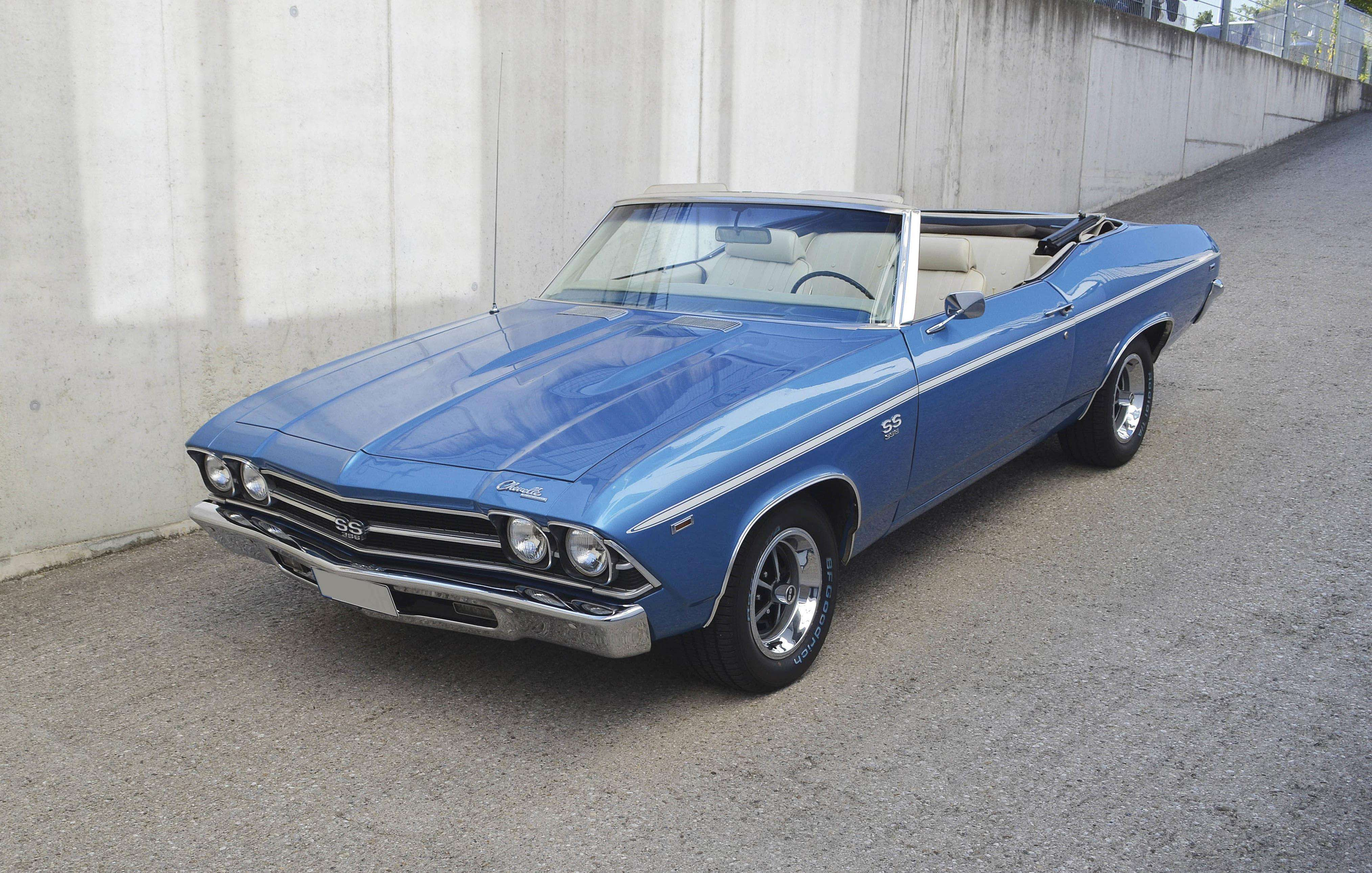 2016 Chevelle Ss >> 1969 Chevrolet Chevelle Ss Convertible 7 Litre Classic Cars