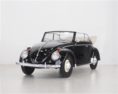 1952 Volkswagen Type 15 Karmann Cabriolet - Classic Cars