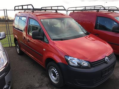 KKW VW-Caddy Kasten/4 x 4, rot - Cars and vehicles