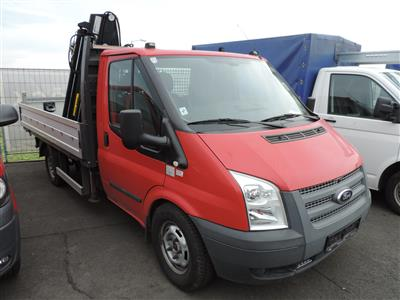 KKW Ford Transit Pritsche AWD rot - Fahrzeuge ÖBB
